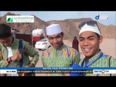 Alhamdulillah Senangnya Muhammad Zohri dan teman atlet lari lainnya beribadah Umrah
