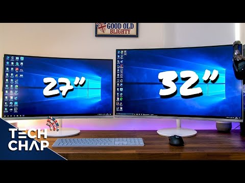 Samsung QUANTUM DOT Curved Monitor Review - 27