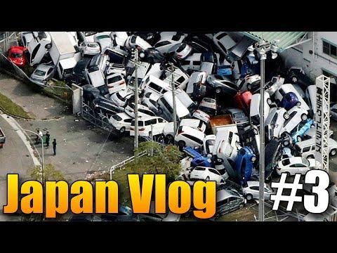 Střetli jsme se s tajfůnem! - Japan Vlog #3