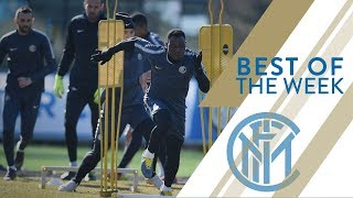 INTER vs SAMPDORIA | WEEKLY TRAINING