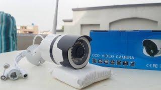 Hikvision Security IP Camera 960P HD WaterProof Review By M-Tech URDU|HINDI