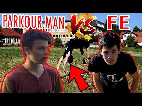Freerun Challenge - FE vs Parkour Man