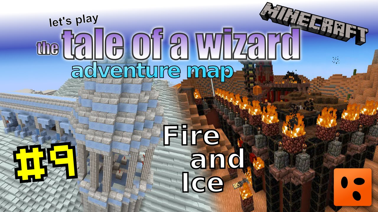 Tale of a Wizard | Minecraft Adventure Map #9 | Fire and Ice
