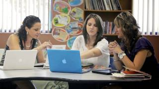 How Teachers Collaborate Online and in School