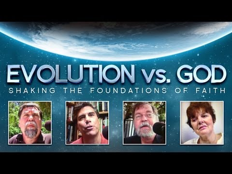 Professor FLOUNDERS to Defend Evolution! | Evolution Vs. God Full Movie (HD)