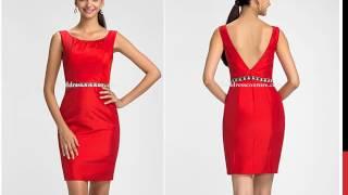 Knee Length Taffeta Bridesmaid Dresses