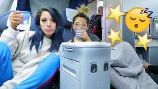 Download Youtube: Sister Sleepover in First Class! VLOGMAS DAY 2! Niki DeMar
