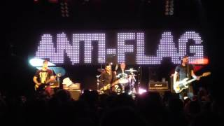 "Anti Flag ""When You Don't Control Your Government"" Live Vancouver 2015-03-13"