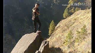 preview picture of video 'सबसे खतरनाक पहाड़ी रास्ता | Dangerous Route of Jamku Village'