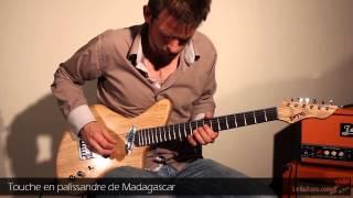 PMC guitares - Thelonious - Guitares au Beffroi 2014 par Brice Delage