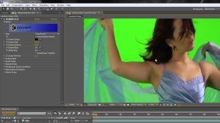 Multi-layer Keying in After Effects Part 1 - Pulling a Basic Key