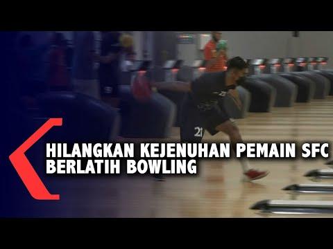 hilangkan kejenuhan pemain sfc berlatih bowling