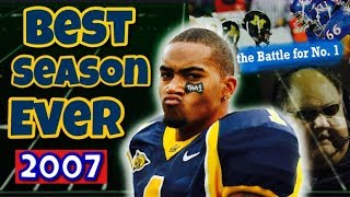 The CRAZIEST college football season of all-time