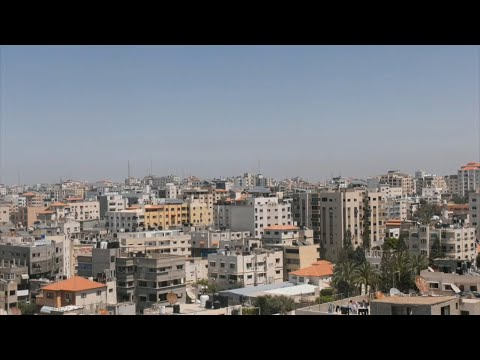Gaza Strip amid Israeli-Palestinian conflict escalation