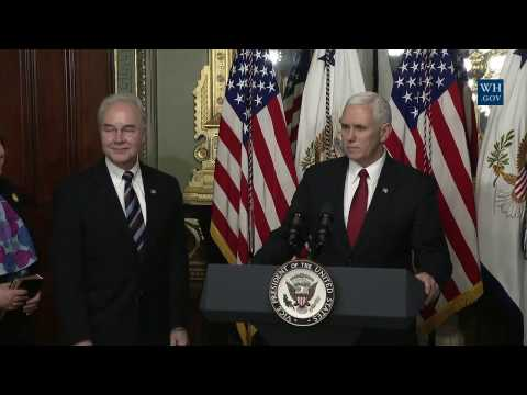 Swearing-In of HHS Secretary Dr. Tom Price