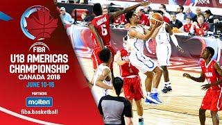 Dominican Republic v Panama - Group Phase - Re-Live (ESP) - FIBA U18 Americas Championship 2018