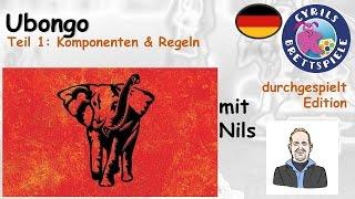 Cyrils Brettspiele - Ubongo Brettspiel (S72E01) - Komponenten & Regeln