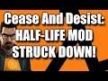 Half-Life MOD Struck Down With DMCA Claim!