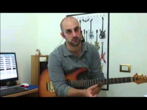 19. Lezioni di chitarra rock. Modo Frigio e Locrio