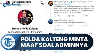 Polda Kalteng Minta Maaf soal Admin Instagram-nya yang Adu Argumen dan Panggil Warganet Lewat DM