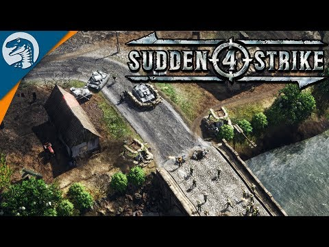EPIC FULL SCALE INVASION FORCE | Sudden Strike 4 German Campaign Gameplay 1