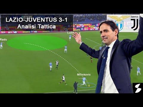 Lazio-Juve 3-1: Analisi tattica - Inzaghi sconfigge Sarri