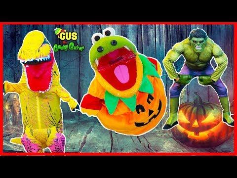 Kids Costume Runway Show Dinosaur IRL Hulk Lego Batman Giant M&M and MORE!