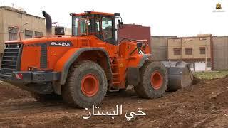 آليات مجلس جهة الشرق تواصل حملة النظافة بأحياء مدينة وجدة