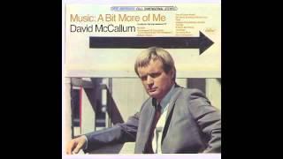 David McCallum - Uptight (Everything's Alright)