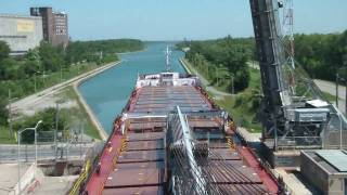 Great Lakes Sailing - Welland Canal HD time-lapse
