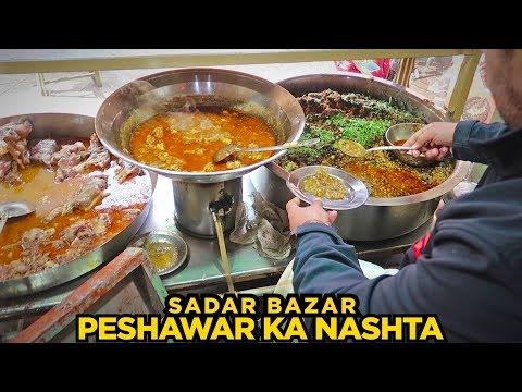 Food Street of Peshawar, Saddar   Fawara Chowk, Saddar Bazar   Koftay Chanay & More   Pakistani Food