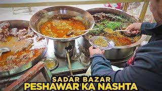 Food Street of Peshawar, Saddar | Fawara Chowk, Saddar Bazar | Koftay Chanay & More | Pakistani Food