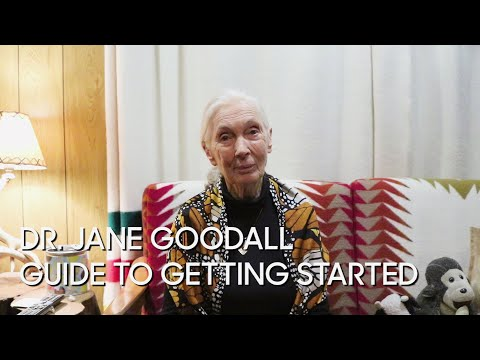 Dr. Jane Goodall's Guide to Getting Started