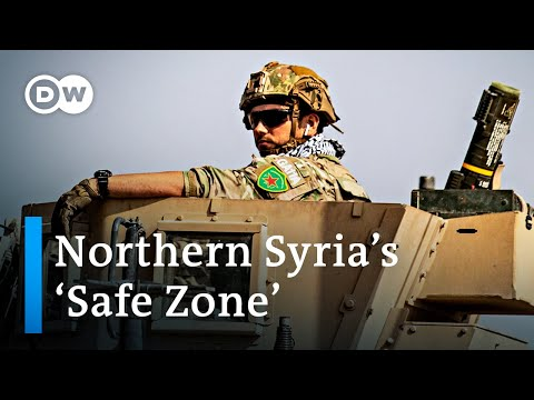 More than 150,000 Kurds forced to leave their homes in northern Syria | DW News
