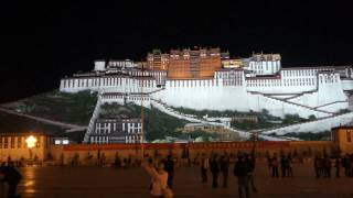 preview picture of video '拉薩布達拉宮 夜景 Potala Palace, Lhasa  པོ་ཏ་ལ'