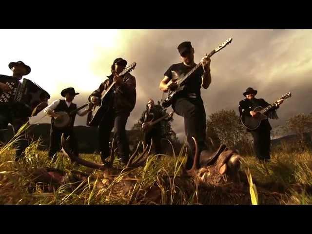 Vassendgutane – Cowboyhatt og Hjortevest