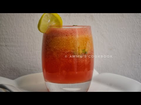 Watermelon Peach Cooler