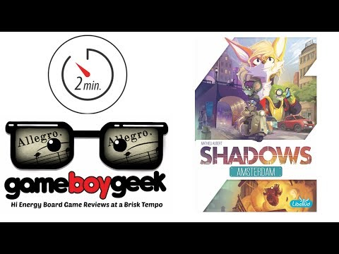 Shadows Amsterdam (Allegro 2-min) Review with the Game Boy Geek