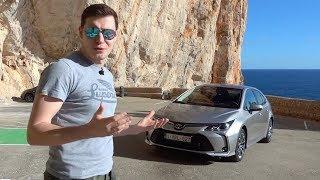 КОМУ НУЖНА НОВАЯ КОРОЛЛА ПО ЦЕНЕ КАМРИ? Тест-драйв и обзор Toyota Corolla 2019