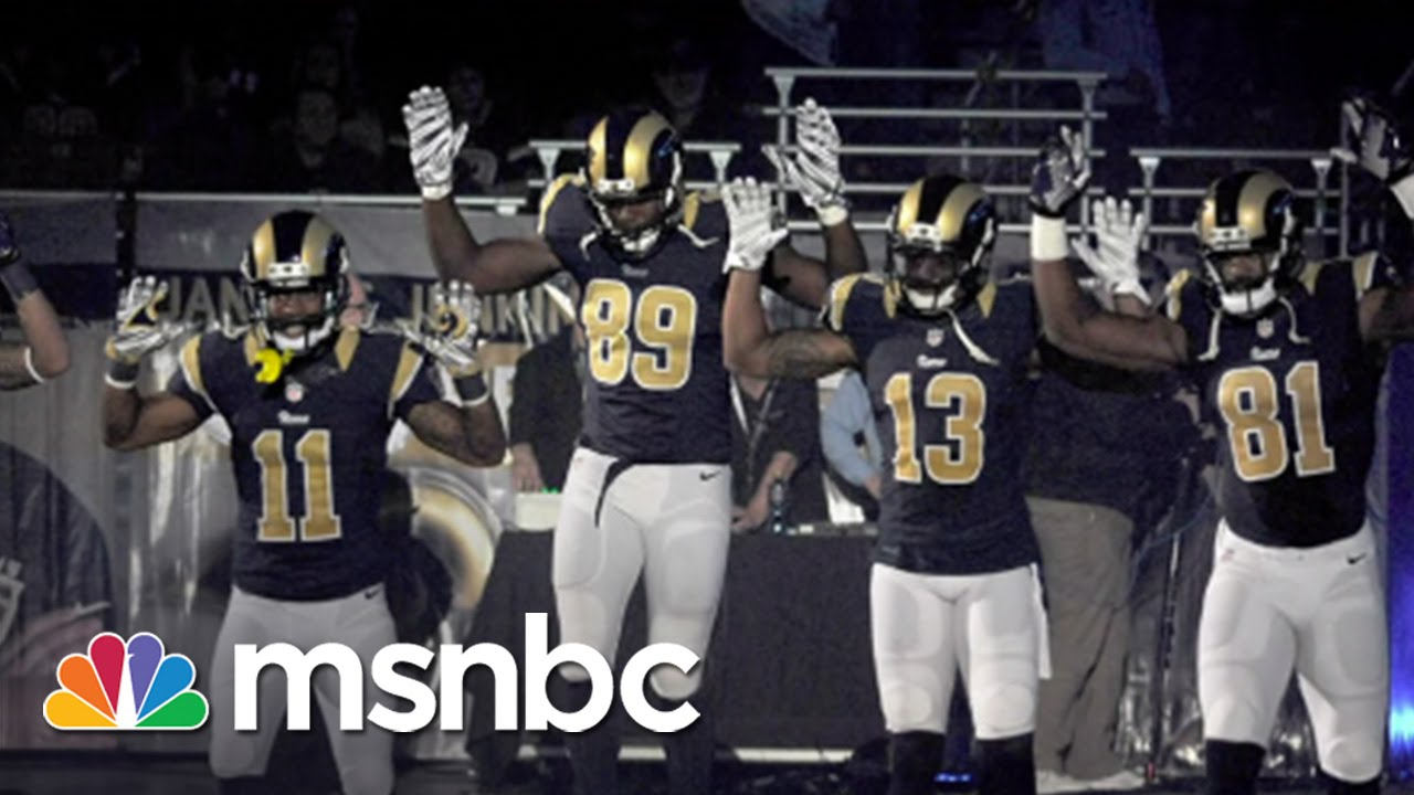 NFL Won't Discipline Rams Players | Morning Joe | MSNBC thumbnail