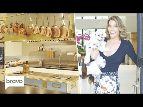 Take A Tour Of Cary Deuber's Newly Renovated Home | RHOD | Bravo