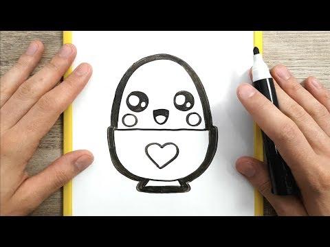 Come Disegnare Kinder Uovo Kawaii Passo Dopo Passo Disegni Kawaii