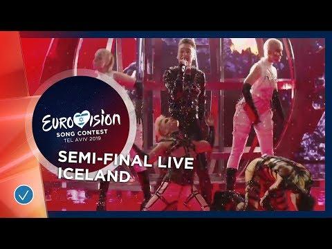 Iceland - LIVE - Hatari - Hatrið mun sigra - First Semi-Final - Eurovision 2019