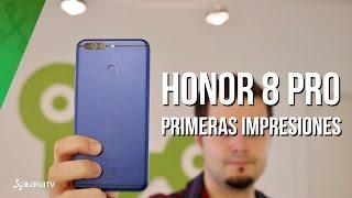 Honor 8 Pro, primeras y prometedoras impresiones del smartphone Android Honor