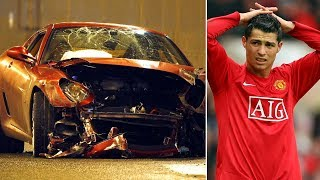 Cristiano Ronaldo's serious car accident in 2009 - Oh My Goal