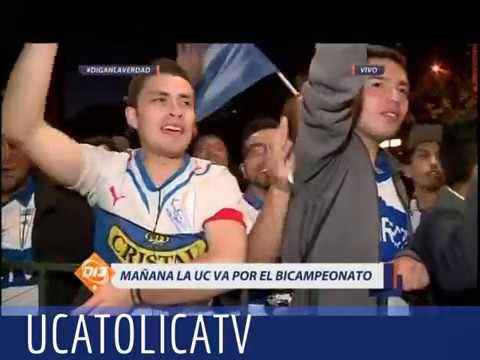 """""""LA PREVIA Catolica a un Paso del Bicampeonato"""" Barra: Los Cruzados • Club: Universidad Católica"""