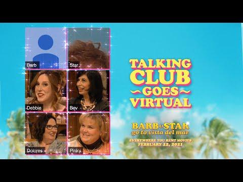 Barb & Star Go to Vista Del Mar (Clip 'Talking Club Zoom Video')