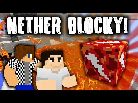 ^(#`∀´)_Ψ NETHER LUCKY BLOCKY s Bauchyčem