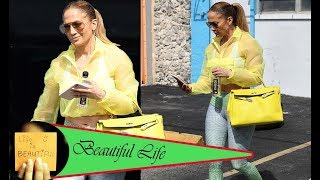 Jennifer Lopez hits the gym to work for new film before meeting up with A-Rod