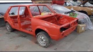 Project Cars [T02 EP04] Golf MK1 1979 - Pós pintura e preparação para a montagem